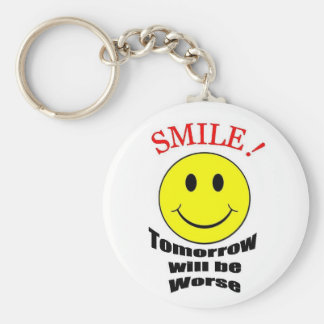 Tomorrow Will be Worse Keychain