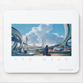 Tomorrowland by Syd Mead Mouse Pad