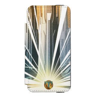 Tomorrowland City Poster iPhone SE/5/5s Wallet Case