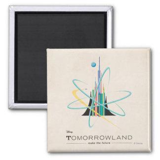 Tomorrowland: Haga el futuro Imán Cuadrado