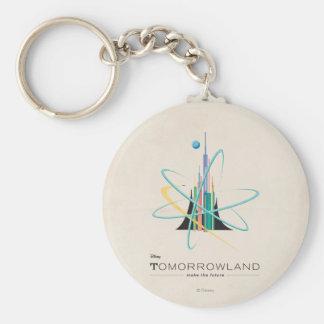 Tomorrowland: Haga el futuro Llavero Redondo Tipo Pin
