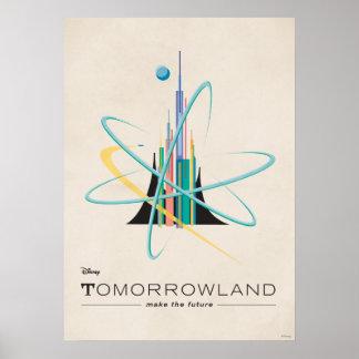 Tomorrowland: Haga el futuro Póster
