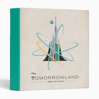 Tomorrowland: Make The Future 3 Ring Binder
