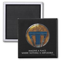 Square Magnet with Disney Logos design