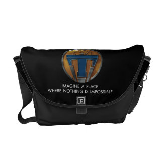 Tomorrowland Medallion Messenger Bag