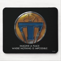 Mousepad with Disney Logos design