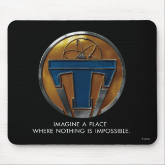 Tomorrowland Medallion Mouse Pad