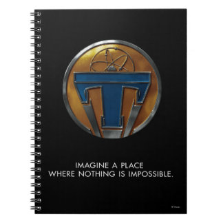 Tomorrowland Medallion Notebook