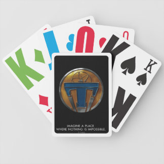 Tomorrowland Medallion Bicycle Playing Cards