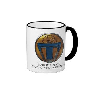 Tomorrowland Medallion Ringer Coffee Mug