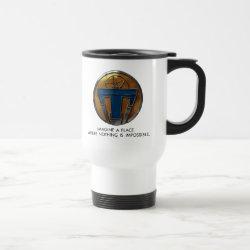 Travel / Commuter Mug with Disney Logos design