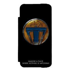 Incipio Watson™ iPhone 5/5s Wallet Case with Disney Logos design