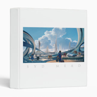 Tomorrowland por la aguamiel de Syd Carpeta 2,5 Cm