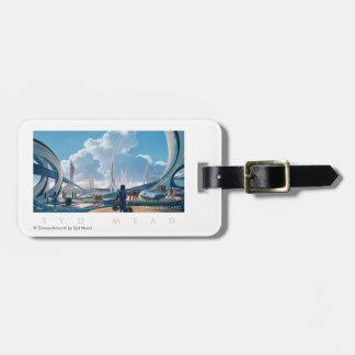 Tomorrowland por la aguamiel de Syd Etiqueta De Maleta