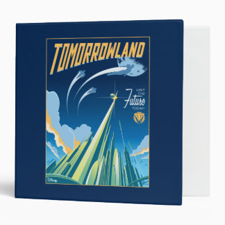 Tomorrowland: Visit The Future Today 3 Ring Binder