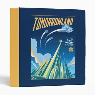 Tomorrowland: Visit The Future Today Binder