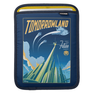 Tomorrowland: Visit The Future Today iPad Sleeve