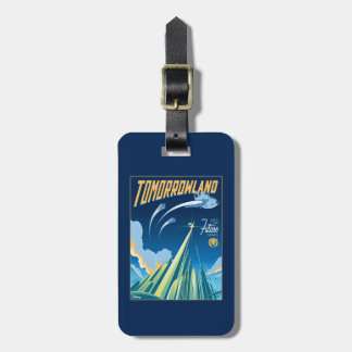 Tomorrowland: Visit The Future Today Luggage Tag