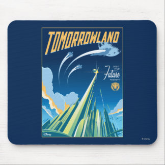 Tomorrowland: Visit The Future Today Mouse Pad
