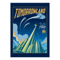 Tomorrowland: Visit The Future Today Poster