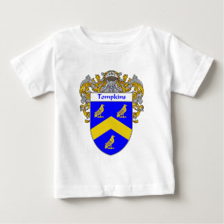 Tompkins Coat of Arms (Mantled) Baby T-Shirt