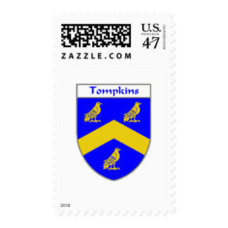 Tompkins Coat of Arms Postage