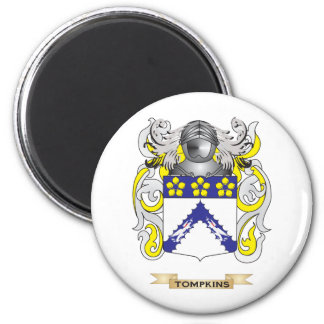 Tompkins Family Crest (Coat of Arms) Magnet