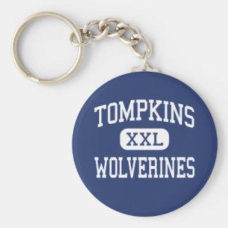 Tompkins Wolverines Middle Savannah Georgia Key Chain