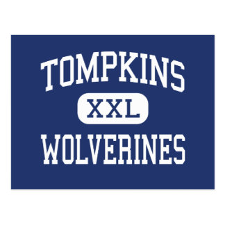 Tompkins Wolverines Middle Savannah Georgia Postcard