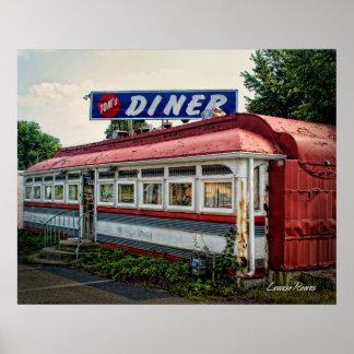 Tom's Diner Poster