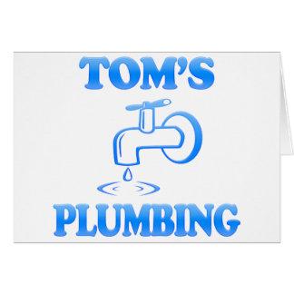 Tom's Plumbing Card