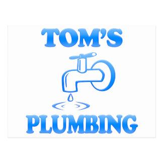 Tom's Plumbing Postcard