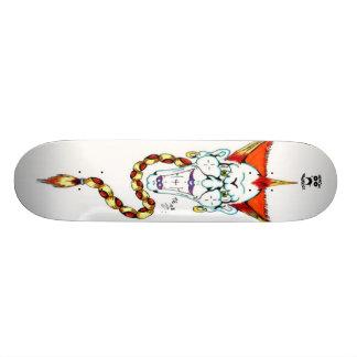 TOMSAC GRAPHICS - Crazy Clown Skateboard Deck