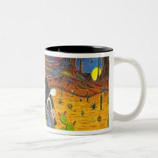 TOMSAC Graphics - The Steve Dream Two-Tone Coffee Mug