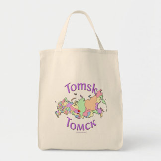 Tomsk Russia Tote Bag