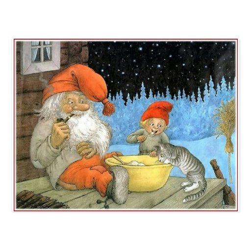 Tomte Nisse, aka Papá Noel Postal
