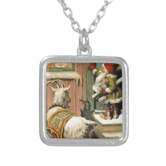 Tomte Nisse aka Santa Clause Personalized Necklace