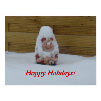 Tomte Nisse, aka Santa Clause Postcards