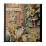 Tomte Nisse, aka Santa Clause Tiles