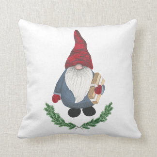 Tomten Throw Pillow