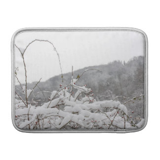 tomtit en invierno funda para macbook air