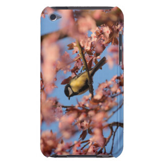 tomtit in blooming tree barely there iPod case