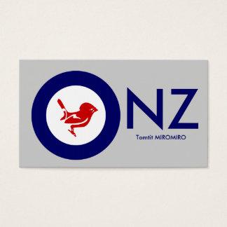 Tomtit roundel | New Zealand Bird Business Card