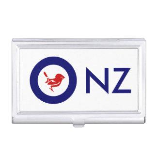 Tomtit roundel | New Zealand Bird Business Card Case