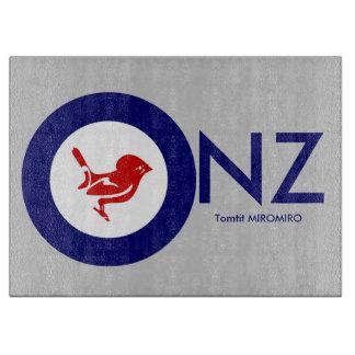 Tomtit roundel | New Zealand Bird Cutting Board