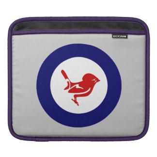 Tomtit roundel | New Zealand Bird iPad Sleeve