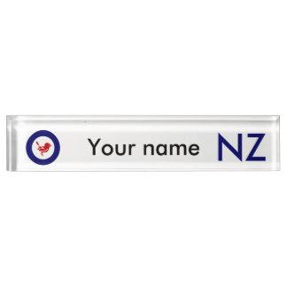 Tomtit roundel | New Zealand Bird Name Plate