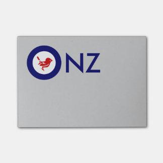 Tomtit roundel | New Zealand Bird Post-it Notes