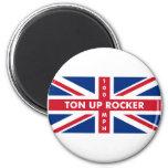 Ton Up Rocker Refrigerator Magnet