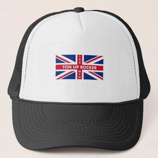 Ton Up Rocker Trucker Hat